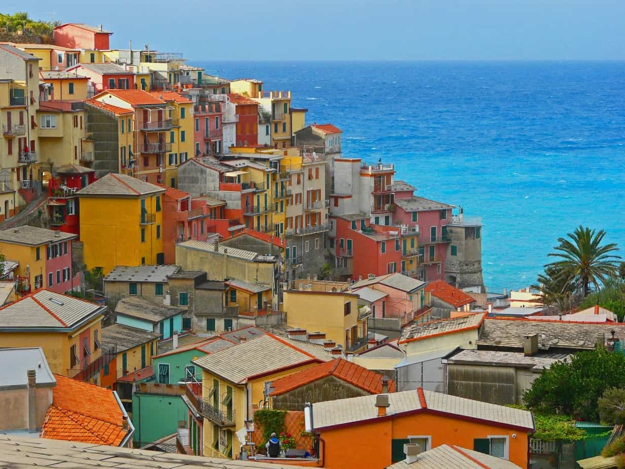 Un paraíso natural en la ladera de la montaña: Cinque Terre