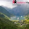 Crucero para singles por los Fiordos Noruegos: naturaleza arrolladora