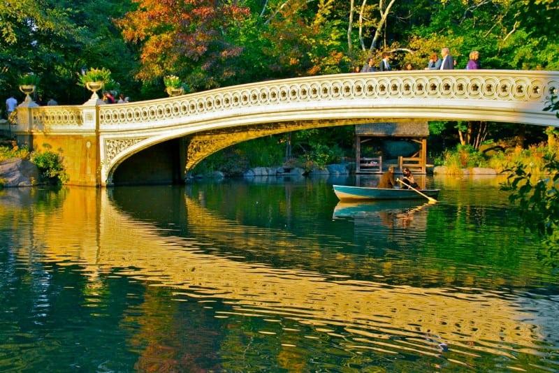 Viajar a Nueva York: Bow Bridge